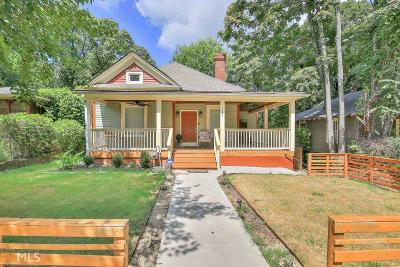 Capital View Single Family Home For Sale: 1381 Desoto Ave