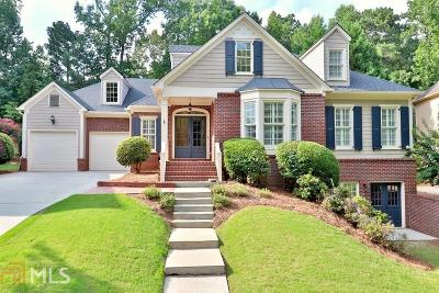 Suwanee Single Family Home For Sale: 1012 Allen Lake Path
