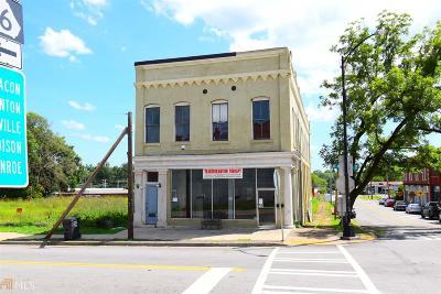 Monticello Commercial For Sale: 108 E Washington St