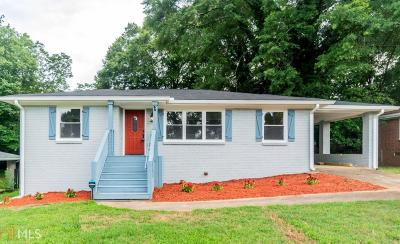 Decatur Single Family Home New: 2807 Toney Dr