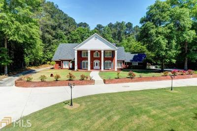 Gwinnett County Single Family Home New: 2461 Temple Johnson Rd