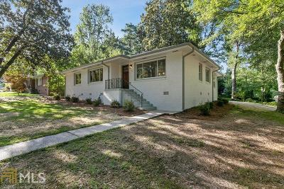 Atlanta Single Family Home New: 1089 Greenleaf Rd
