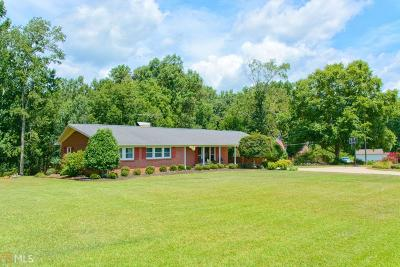 Bowdon Single Family Home New: 885 Tyus Veal Rd