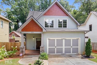Atlanta Single Family Home New: 1329 Sargent Ave