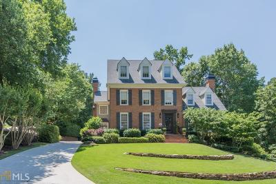 Roswell, Sandy Springs Single Family Home For Sale: 490 Tavern Cir