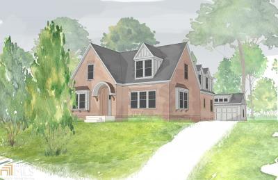 Atlanta Single Family Home New: 1254 Stillwood Dr