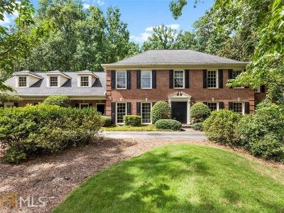 Cobb County, Fulton County Single Family Home New: 3003 Rivermeade Drive NW