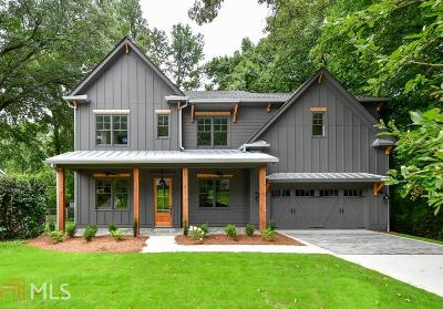 Atlanta Single Family Home New: 1903 Dyer Circle