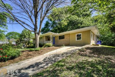 Decatur Single Family Home New: 1663 Moncrief Circle