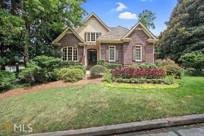 Sandy Springs Single Family Home New: 4585 Peachtree Dunwoody Road