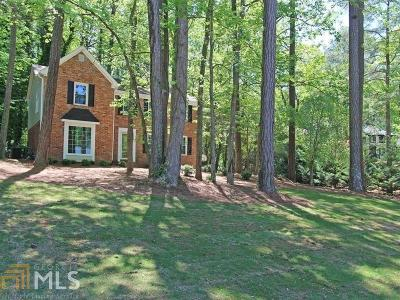 Marietta Single Family Home New: 1017 Hidden Hollow Drive