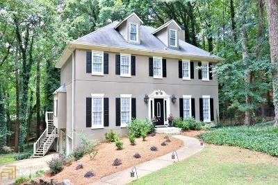Roswell Single Family Home New: 9305 Bluejack Lane