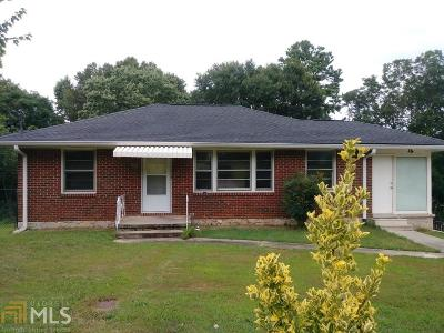 Clayton County Single Family Home New: 858 Pinevalley Drive