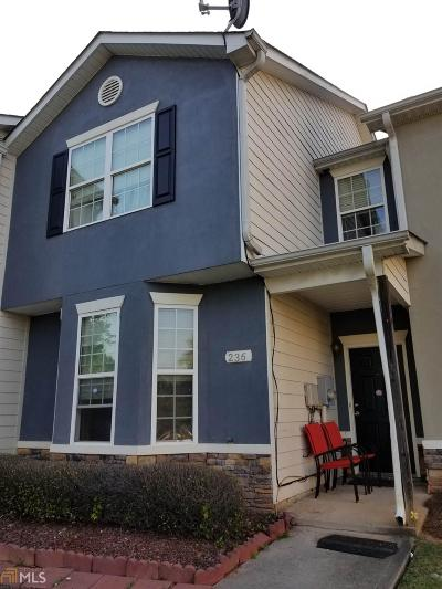 Clayton County Condo/Townhouse New: 236 Commons Drive