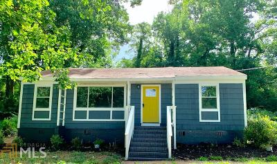 Atlanta Single Family Home New: 2016 Bader Ave SW