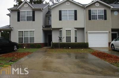 Clayton County Condo/Townhouse New: 2397 Coach Way