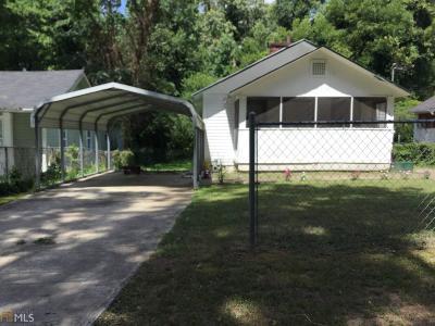 Atlanta GA Single Family Home New: $100,000