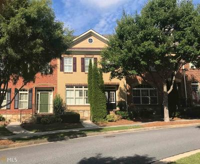 Suwanee Condo/Townhouse For Sale: 4372 Hansboro