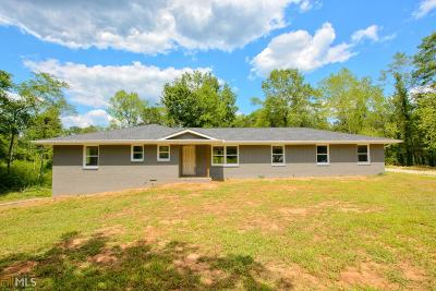 Carrollton Single Family Home For Sale: 218 Old Camp Church Rd #59.79 Ac