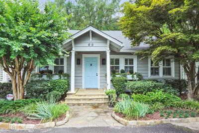 Peachtree Hills Single Family Home For Sale: 68 Peachtree Hills