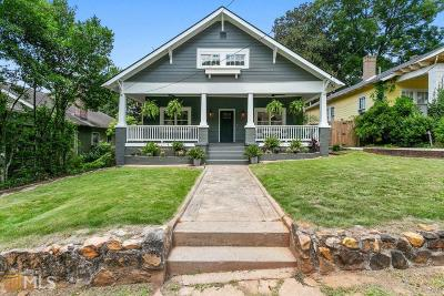 Atlanta Single Family Home New: 1323 Allene Ave