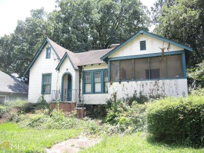 Atlanta Single Family Home New: 1393 Glenwood Ave