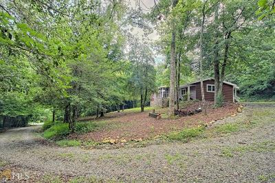 Rabun County Single Family Home For Sale: 40 Timpson Cove Rd