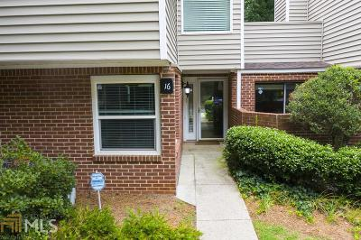 Sandy Springs Condo/Townhouse For Sale: 16 NE Dunwoody Springs Dr