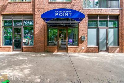 Castleberry Point Condo/Townhouse For Sale: 333 Nelson St #405