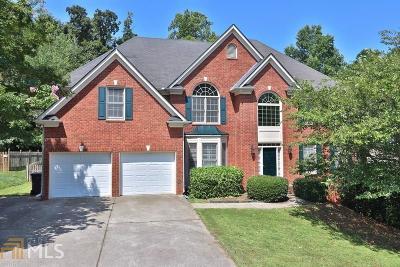 Acworth Single Family Home For Sale: 5527 Hedge Brooke Dr