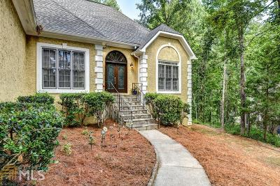 Roswell Single Family Home For Sale: 10380 Shallowford Rd