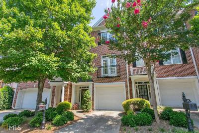 Roswell Condo/Townhouse For Sale: 3508 Waters Edge Trl