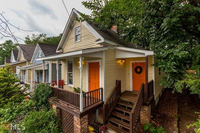 Cabbagetown Single Family Home For Sale: 154 Savannah St