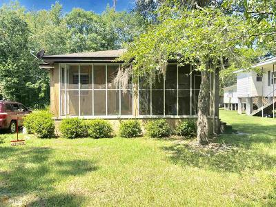 Brooklet Single Family Home For Sale: 1029 Riverview Rd