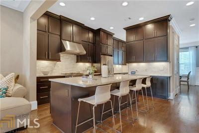 Old Fourth Ward Condo/Townhouse For Sale: 194 Central Park Cir