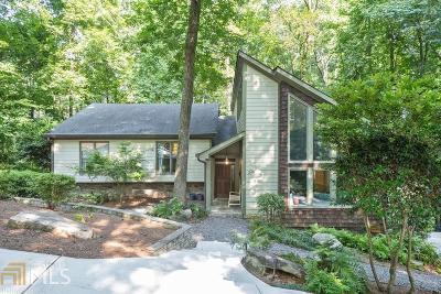 Sandy Springs Single Family Home For Sale: 245 Skyridge Dr