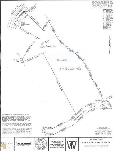Buford Residential Lots & Land For Sale: 2165 Shoal Crk