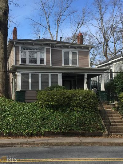 Fulton County Multi Family Home For Sale: 852 NE Monroe Dr