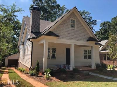 Decatur Single Family Home For Sale: 226 Mountain View St