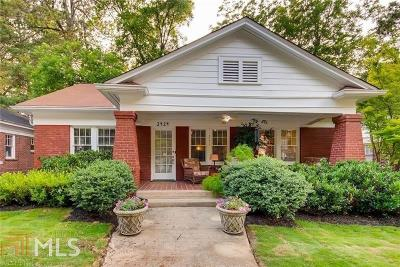 Peachtree Hills Single Family Home For Sale: 2424 Glenwood Dr