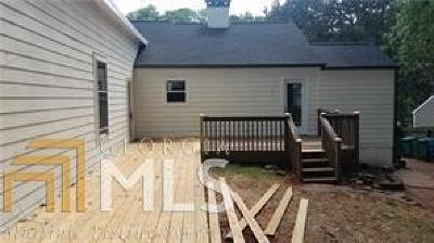 Decatur Single Family Home For Sale: 1231 Thomas Rd
