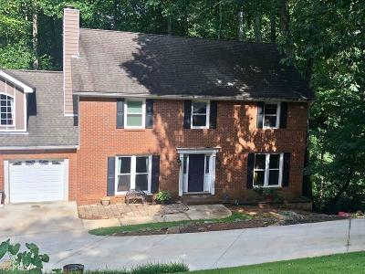 Kennesaw Single Family Home For Sale: 1255 NW Shiloh Trl E