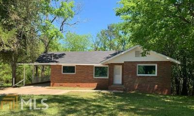 Haddock, Milledgeville, Sparta Single Family Home For Sale: 1270 S Elbert St