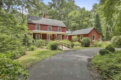 Coweta County Single Family Home For Sale: 52 Fox Hollow Run #13.68 AC