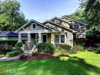 Smyrna Single Family Home For Sale: 3040 Dunn St