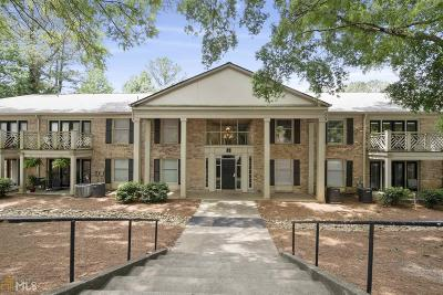 Brookhaven Condo/Townhouse For Sale: 3650 Ashford Dunwoody Rd #815