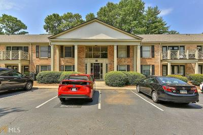 Brookhaven Condo/Townhouse For Sale: 3650 Ashford Dunwoody Rd #923