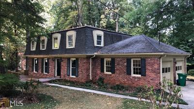 Stone Mountain Single Family Home For Sale: 2307 Marthasville Ct