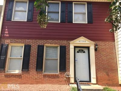 Stone Mountain Condo/Townhouse Under Contract: 4790 Hairston Pl