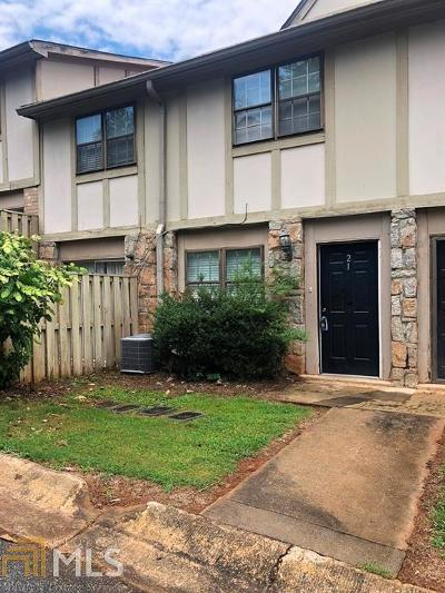 Stone Mountain Condo/Townhouse For Sale: 1151 Rankin St #A21